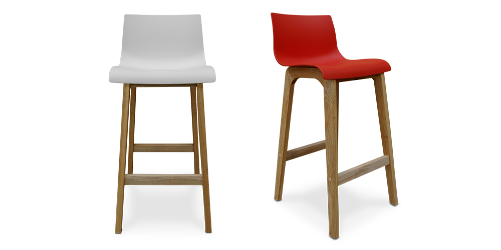 The Zero Bar Stool from Hunter Furniture