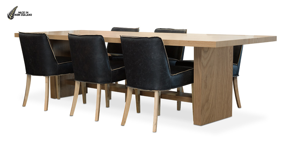 The Kobe Dining Table from Hunter Furniture