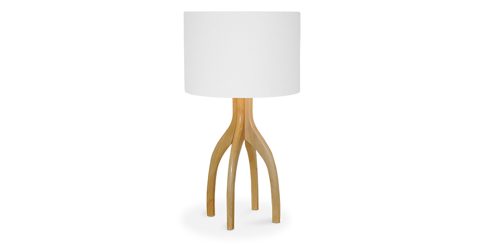 The Linen Table Lamp from Hunter Furniture
