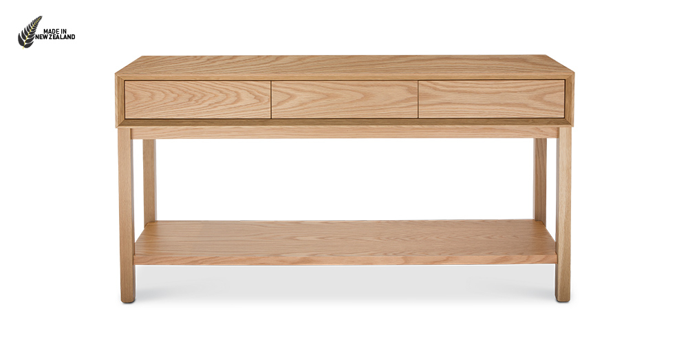 The Oslo Console Table from Hunter Furniture