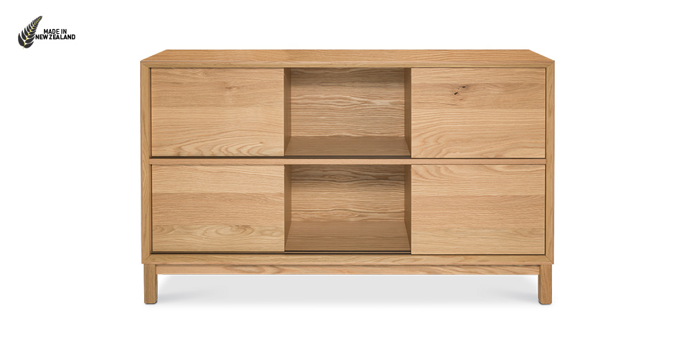 The Oslo Display Bookcase from Hunter Furniture