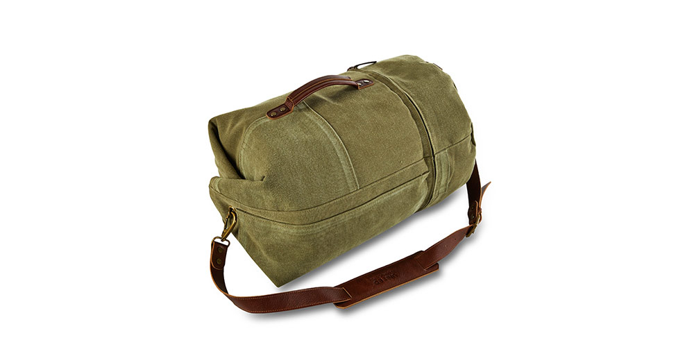 Cadet Canvas Duffle Bag from United Strangers