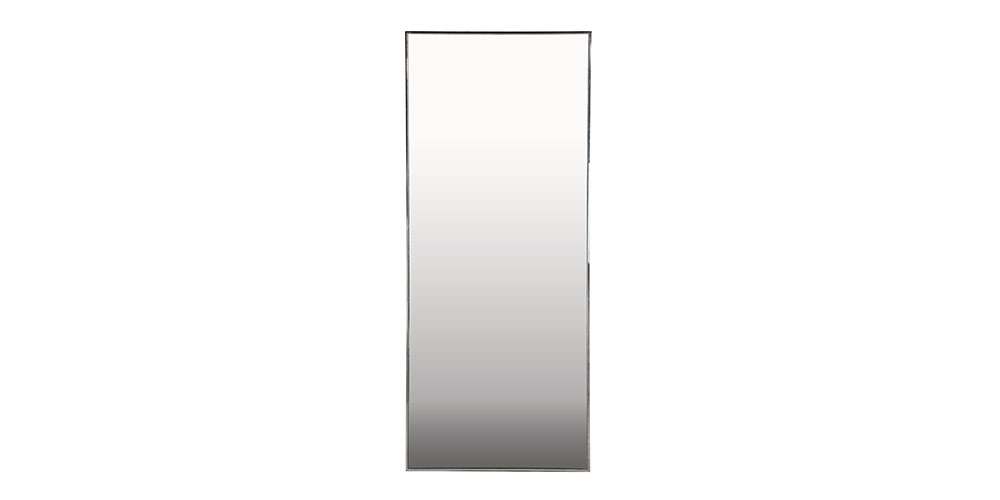 Hunter Furniture Large Mirror In Stainless Steel
