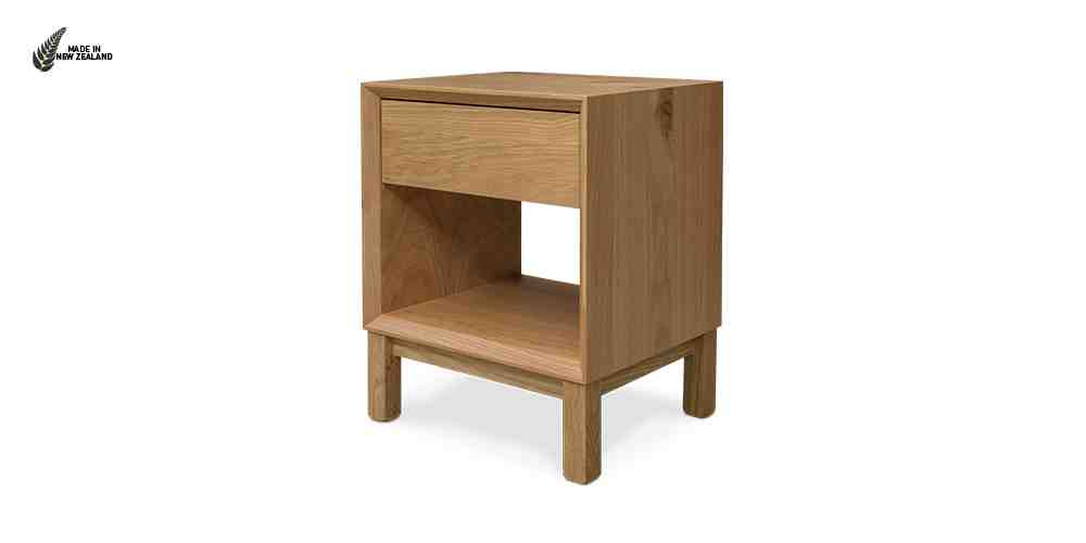The Oslo Bedside Table from Hunter Furniture