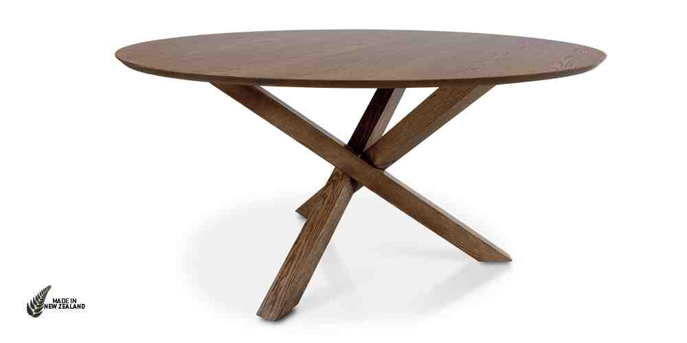The Omaha Dining Table from Hunter Furniture