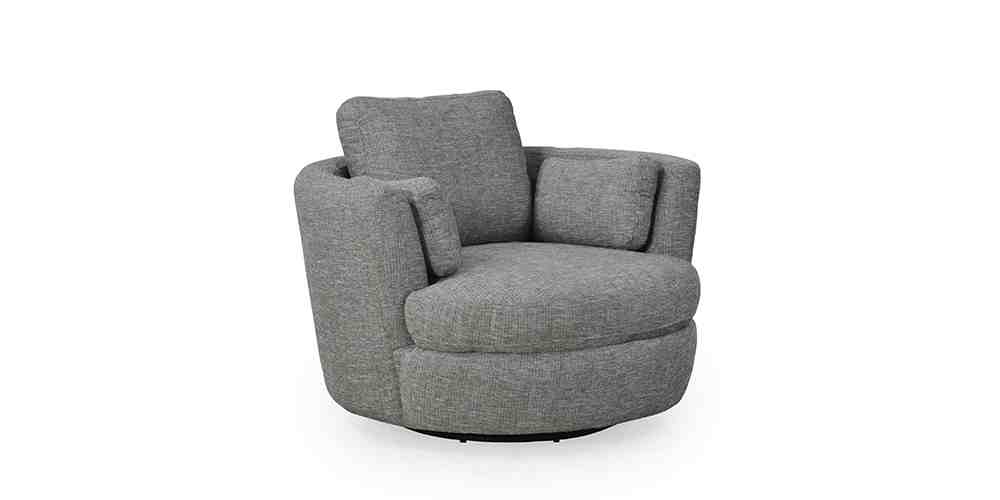Don Junior, Swivel Chair, Fabric, Armchair, Hunter Furniture