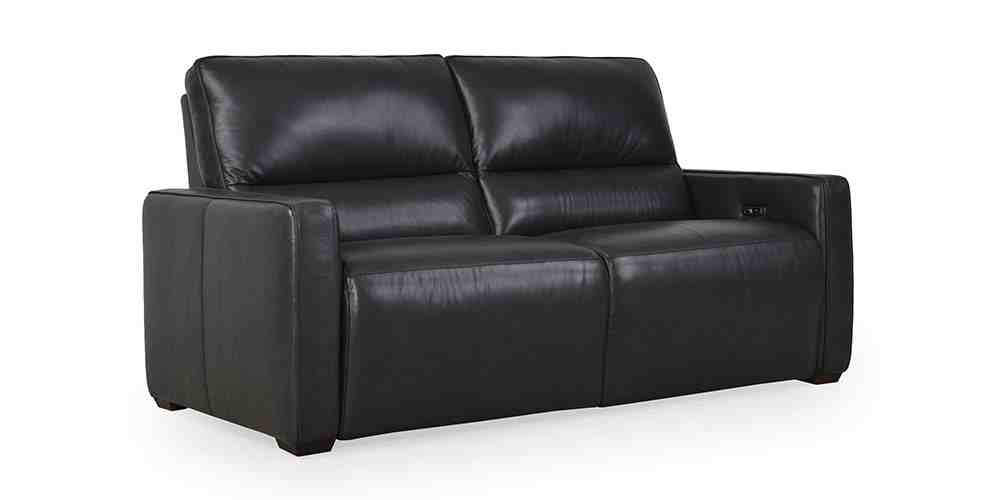 Harris Power Recliner, Leather Recliner, Hunter Furniture