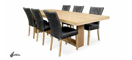 The Juno T Base Dining Table form Hunter Furniture