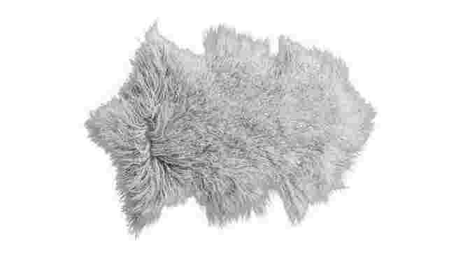 Meru Lamb Fur throw from Hunter Furniture