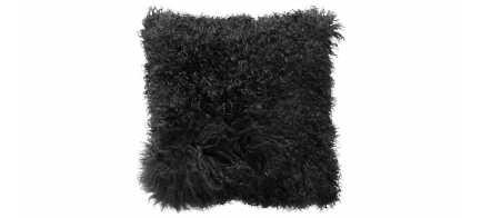 The Menu Lamb Fur Cushion from Hunter Furniture