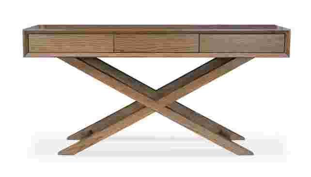 The Omaha Console Table from Hunter Furniture