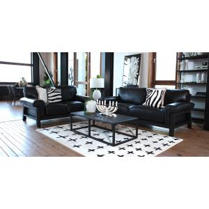 Orson 2 Piece Suite in Terrace Black (Limited Edition)