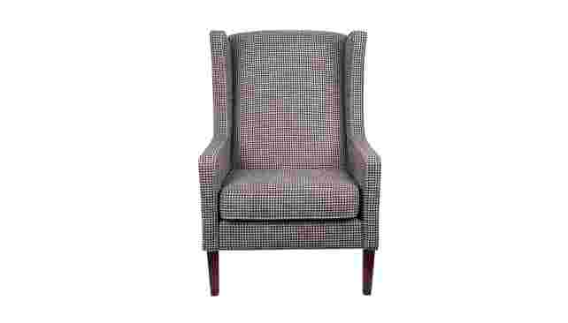 Preston Wing Chair</br>in Heritage Carbon